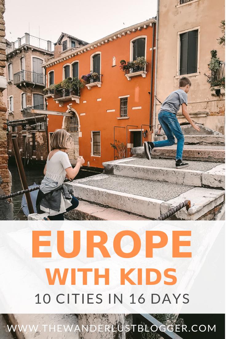 Kids in Venice