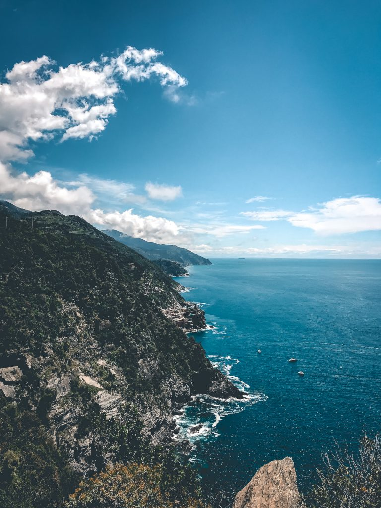 Cinque Terre Hike View