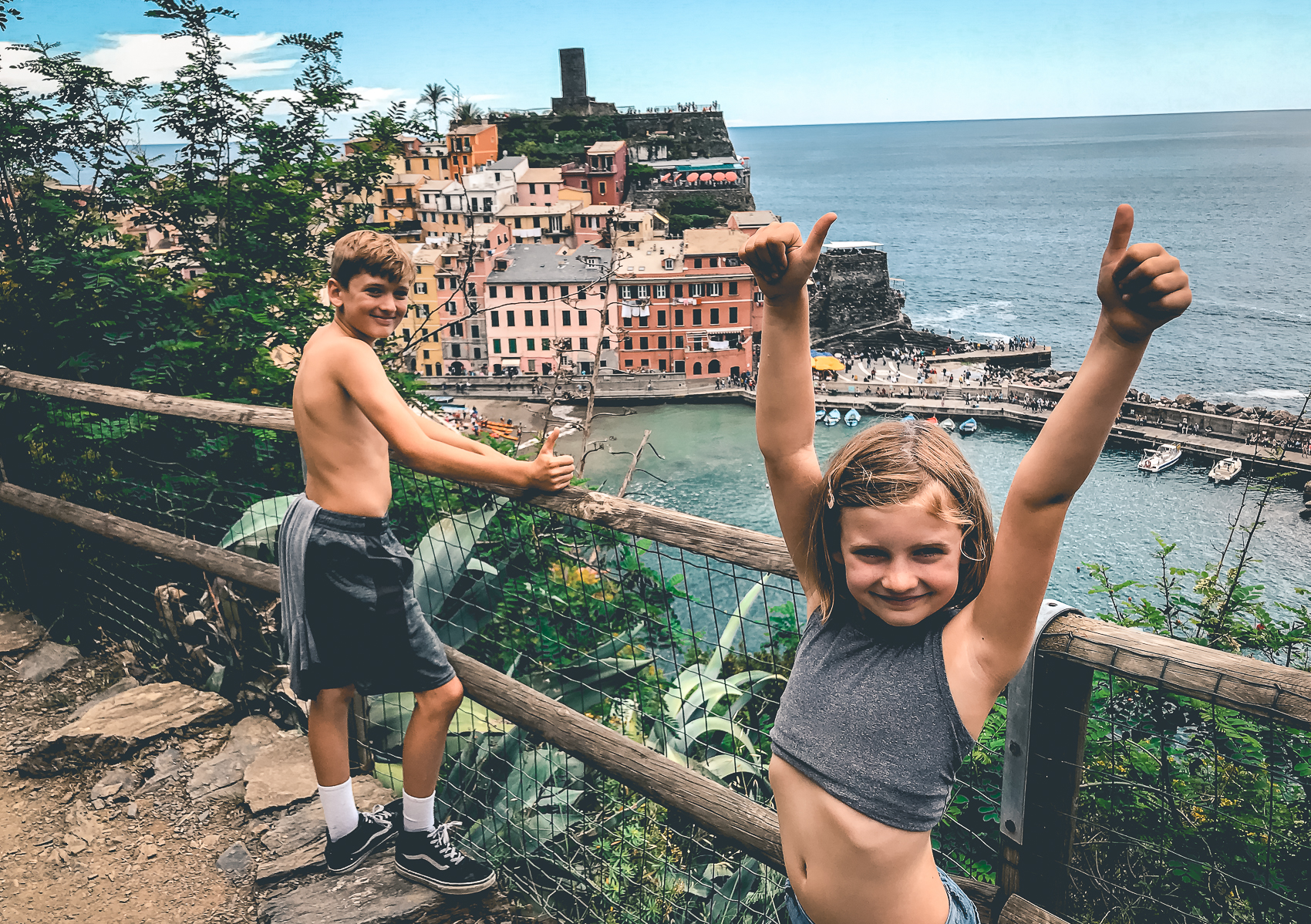 Cinque Terre Hiking with Kids