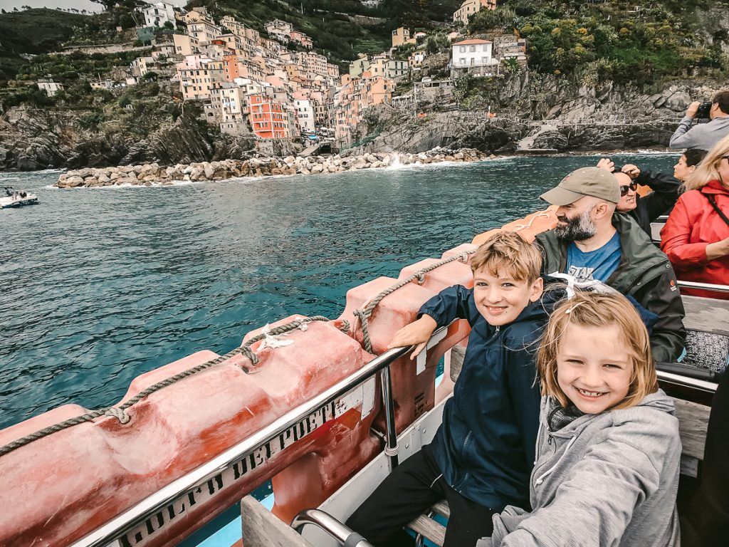 Cinque Terre with Kids