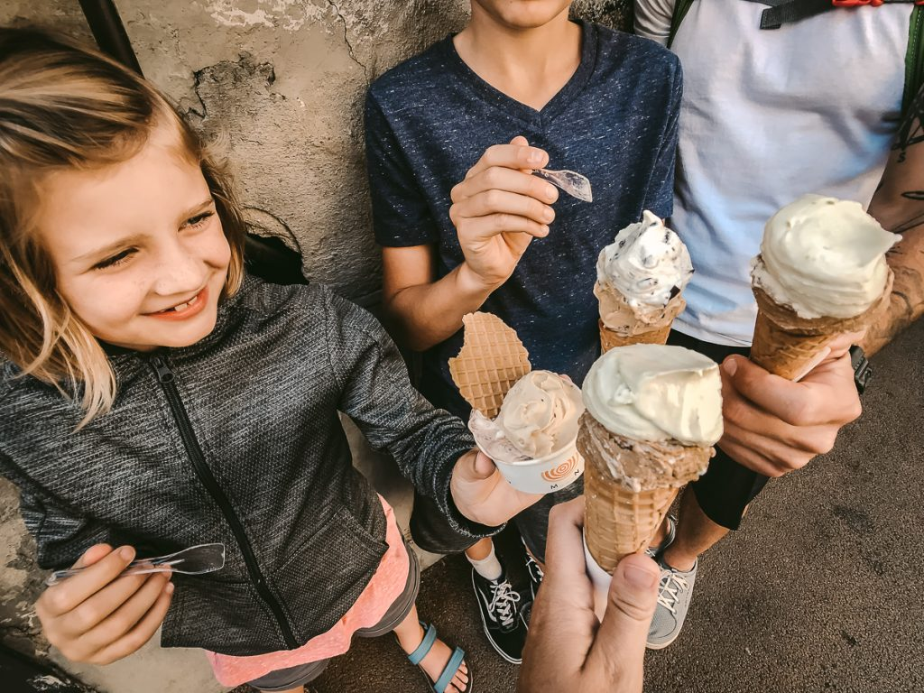 Florence with Kids Gelato