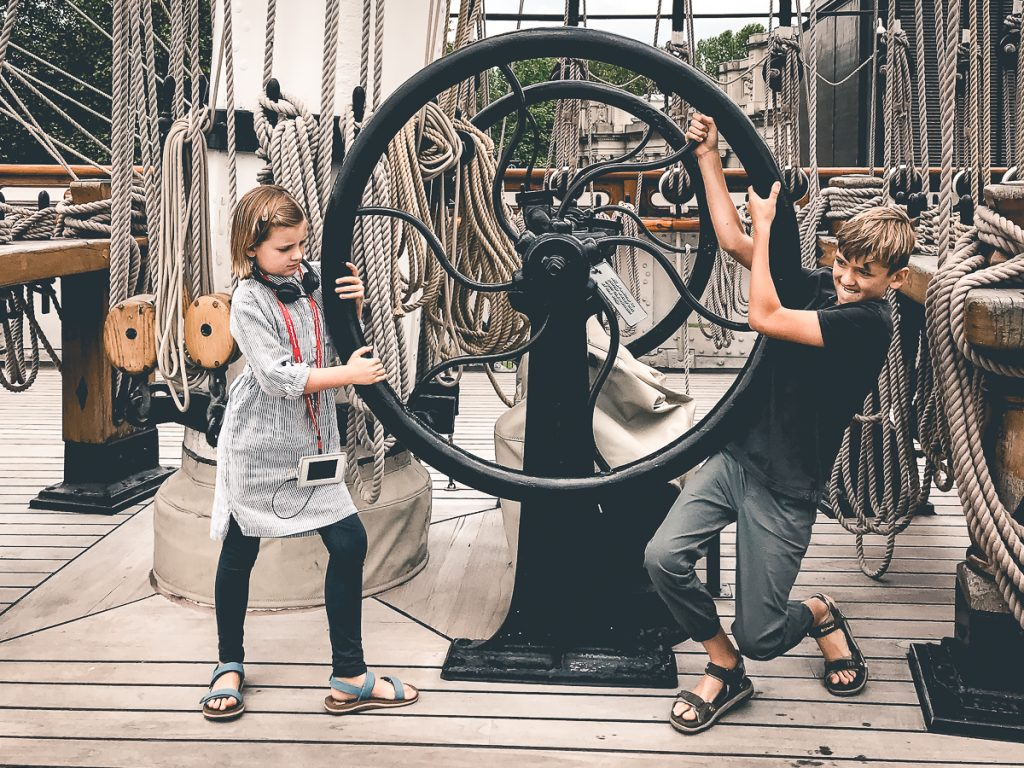 London with Kids Cutty Sark