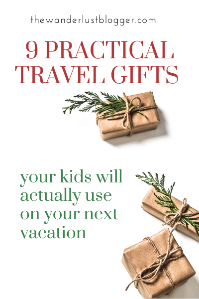 9 travel gifts for your kids