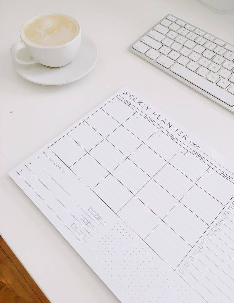 Blogger Time Block Scheduling